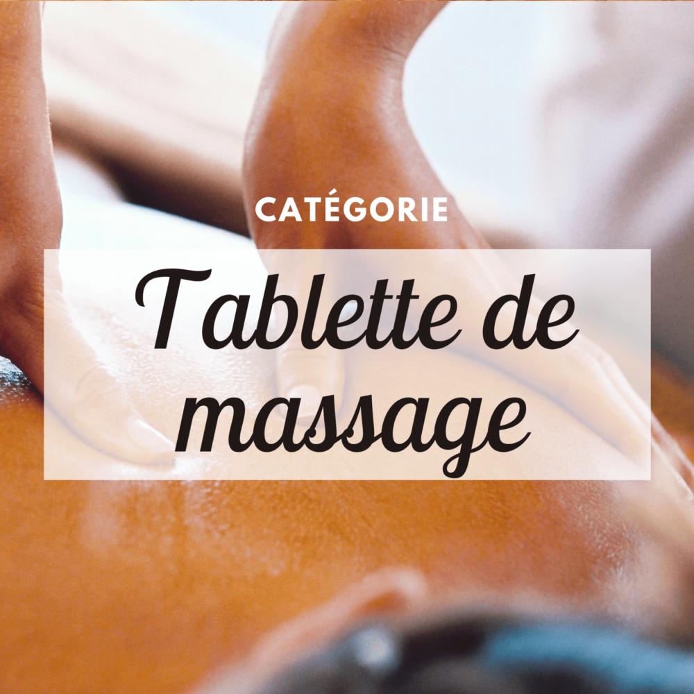 Tablette de massage